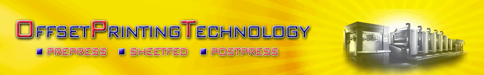 Offset printing technology | Offset lithography